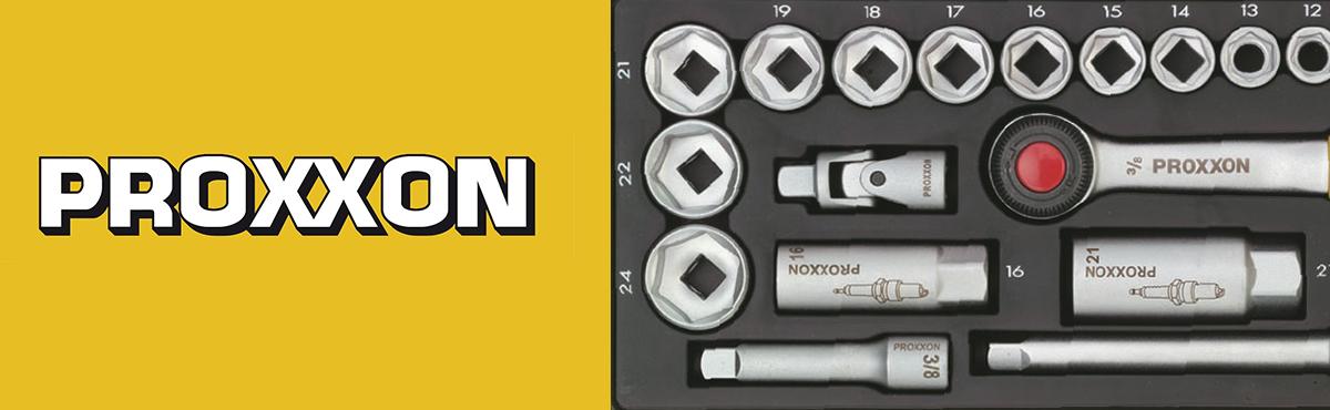 เครื่องมือมือระดับมืออาชีพ การันตีด้วยมาตรฐานเยอรมัน PROXXON