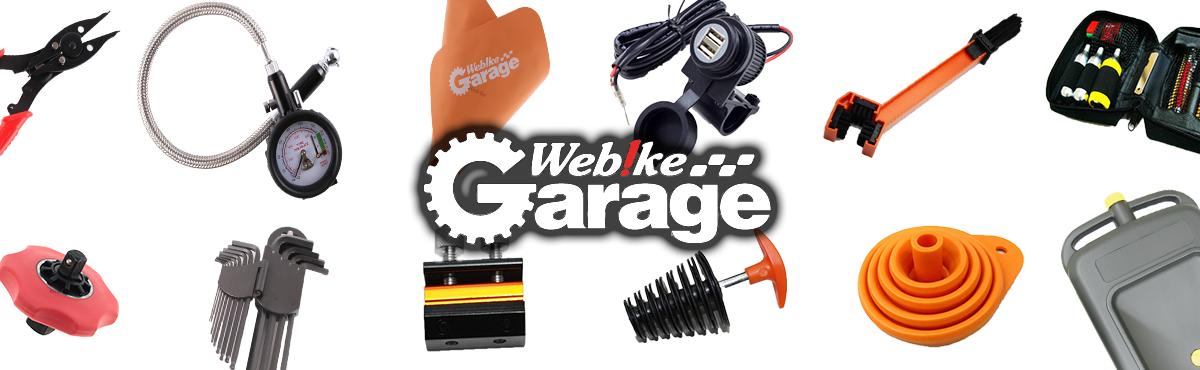 WEBIKE GARAGE เชี่ยวชาญในการจัดหาเครื่องมือรถจักรยานยนต์