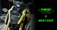 รูปลักษณ์ MOS × MSX125 ได้รับการปรับเปลี่ยนให้เป็นสไตล์บูติก