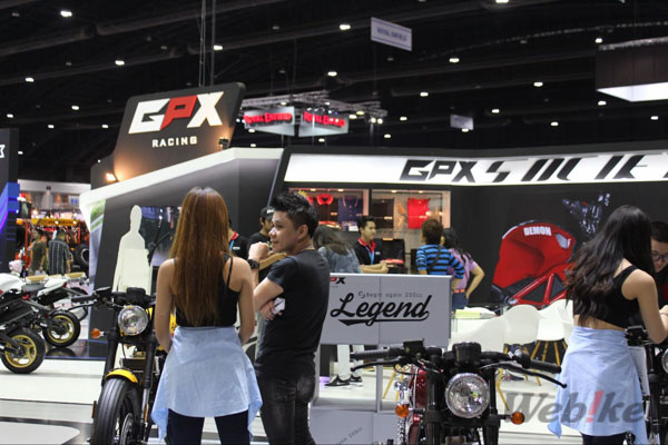 Gpx-racing booth