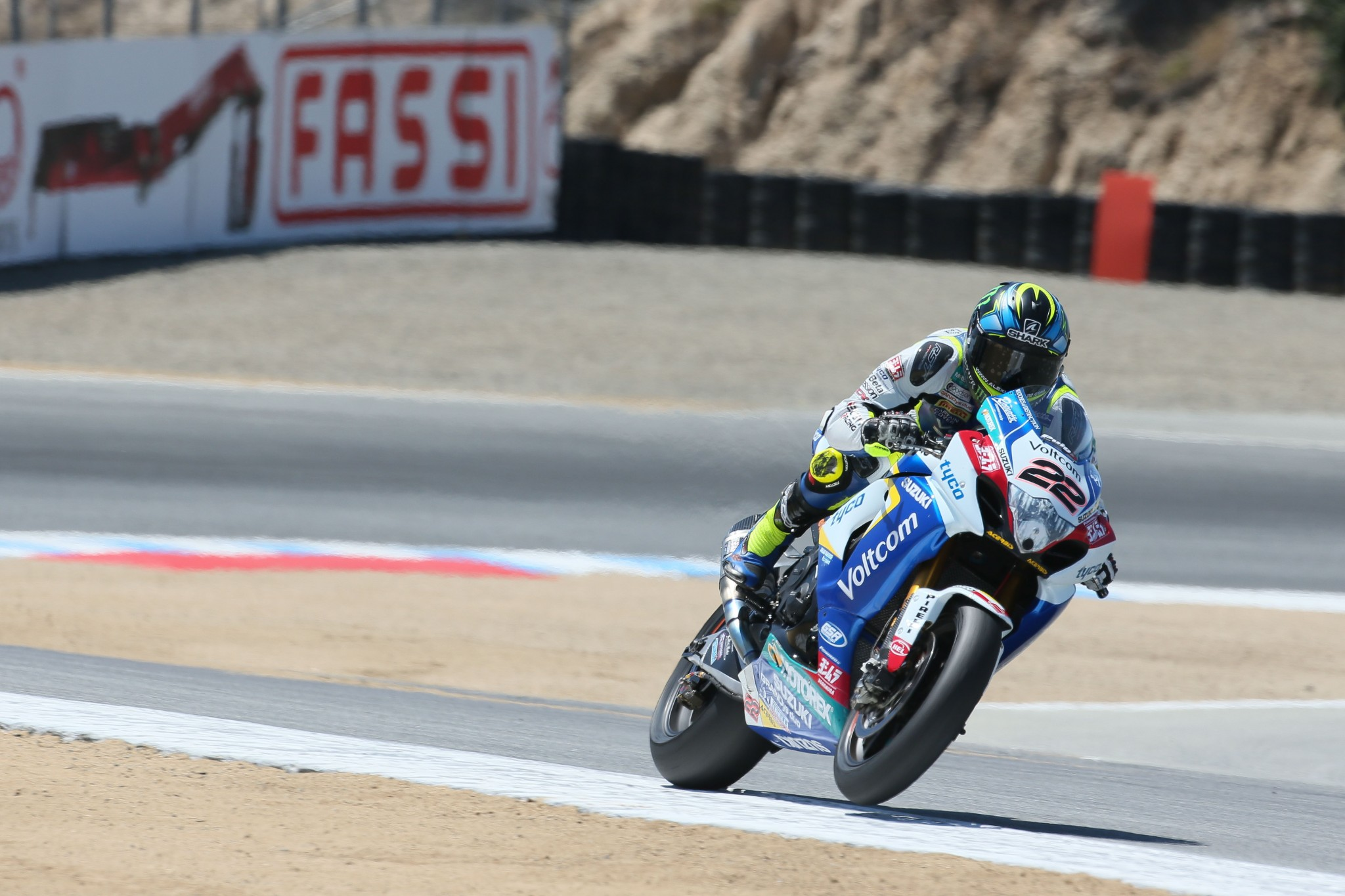 Alex Lowes No. 22 Suzuki