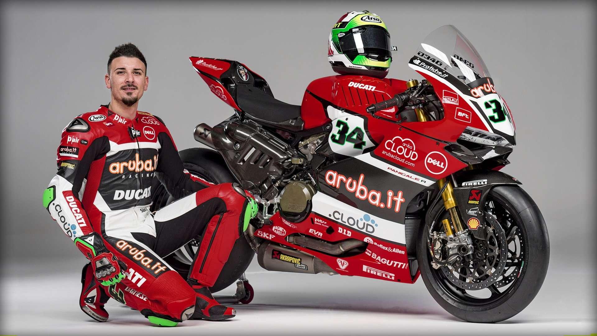 Davide Giugliano No. 34 Ducati
