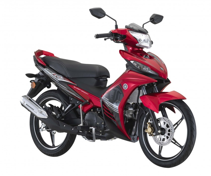 2016 yamaha 135lc price confirmed up to 7 068 rm webike for Yamaha philippines price list 2017