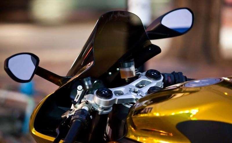 Ducati 899 Panigale 2016 -closeup
