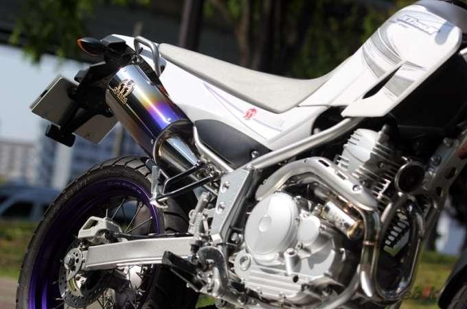 Yamaha XT250X กับท่อสวยๆ