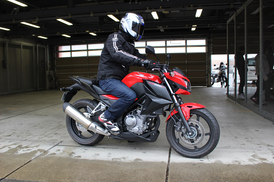 cb250f ride