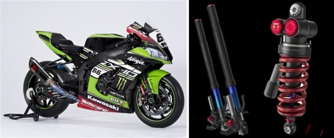 SHOWA Suspensions that Won the WSBK Championships are Available for