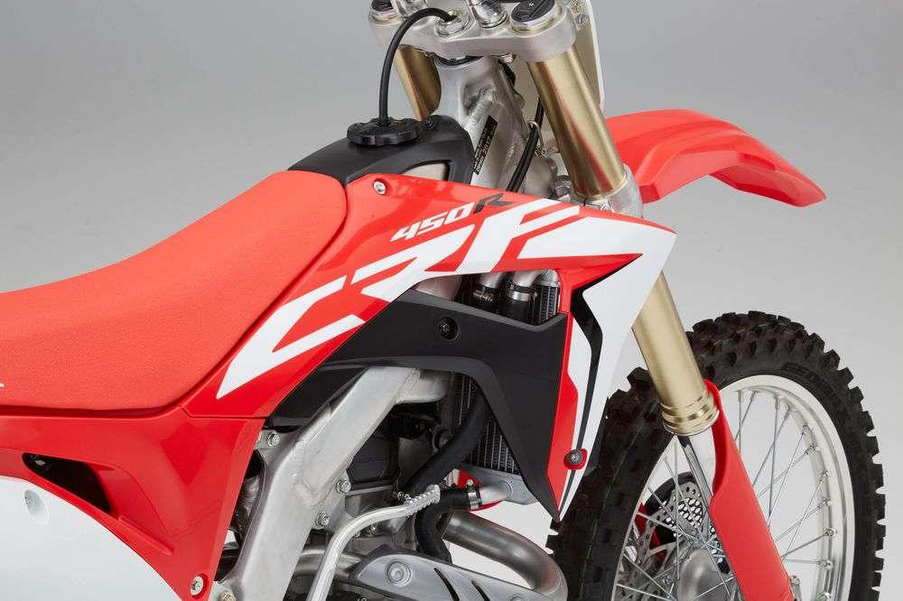 Honda Reveals New Crf450r And Rx Webike Thailand
