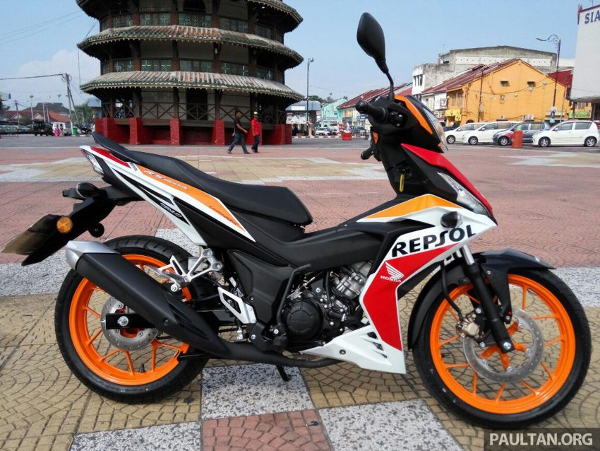 2016 honda rs150r ride impression of new cub webike for Yamaha motorcycles thailand prices