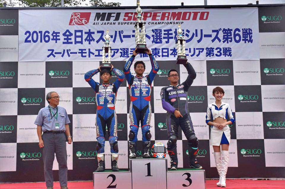 2 ดาวรุ่งไทยในสังกัด Yamaha Thailand Team Norick คว้าชัย 1-2