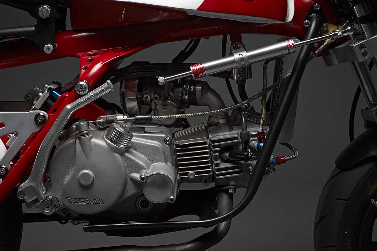 King Kong 50 Magnum – Davmomoto Honda Z50   Webike Thailand