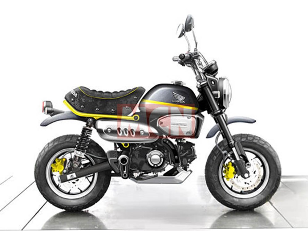 Honda Grom Specs >> All-new Honda Monkey 125 on the way | Webike Thailand