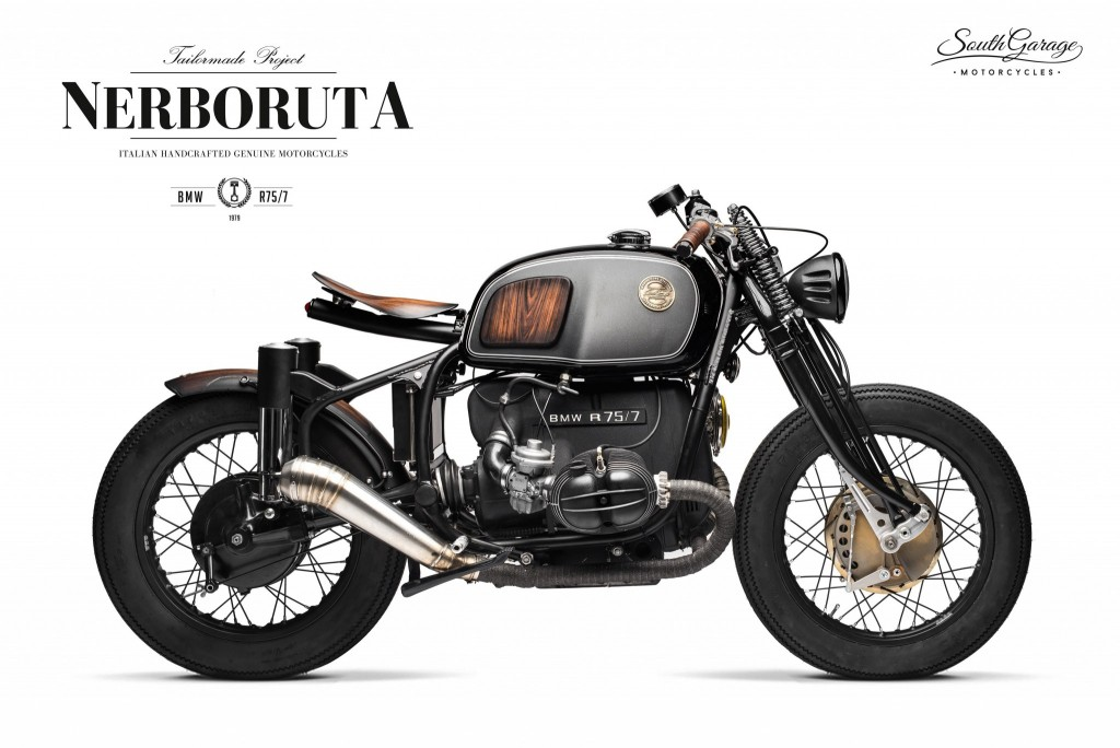 Cafe Racer from BMW R75 / 5