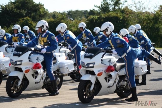Japan traffic police