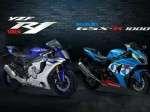 Suzuki-GSX-1000-vs-Yamha-YZF-R1-1