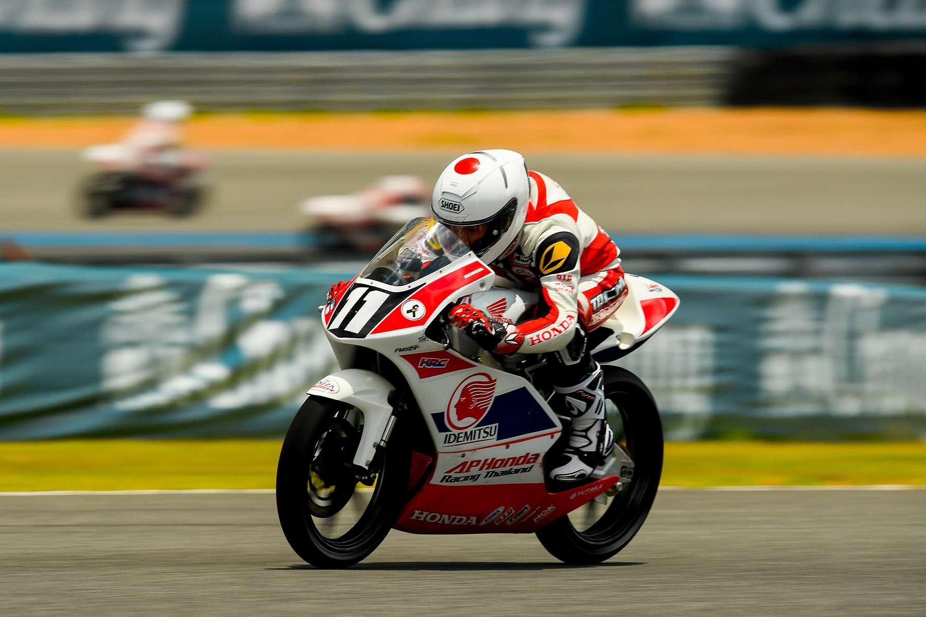 Honda Talent Race 1 Winner