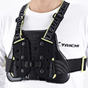 TRV064 TECCELL CHEST PROTECTOR (WITH BELT)