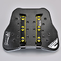 TRV067 TECCELL SEPARATE CHEST PROTECTOR WITH BUTTON