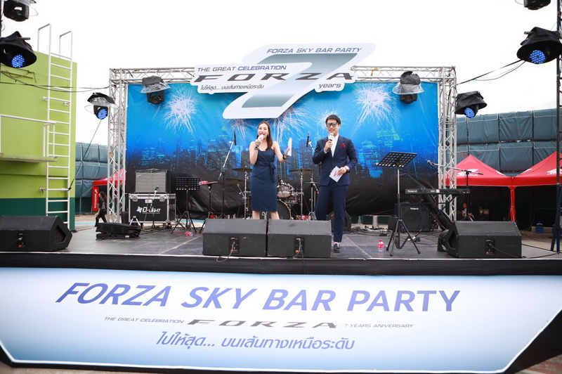 A.P.Honda_ฮอนด้า_Forza sky bar party 7th anniversary (13)
