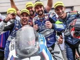 Ewc_Bol_Dor_2019_Race_Wojcik Racing Team ,REA Gino,BERGMAN Christoffer,MAURIN Axel,Yamaha,YZF R1,Formula EWC