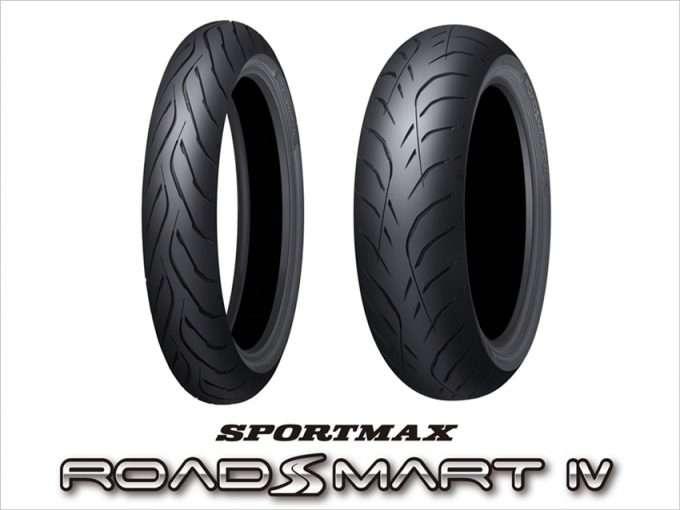 ยางสำหรับใช้งานทั่วไป 【DUNLOP】SPORTMAX ROADSMART IV
