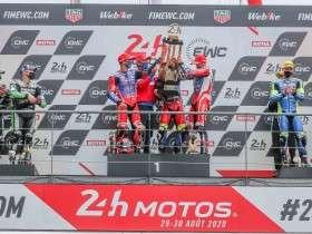 Ewc_24_H_Motos_2020_Race_FCC TSR Honda France, Hook Josh, Foray Freddy, Di Meglio Mike, Honda CBR 1000RR, Formula EWC